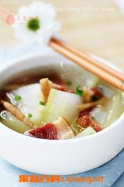 果蔬百科参金冬瓜汤